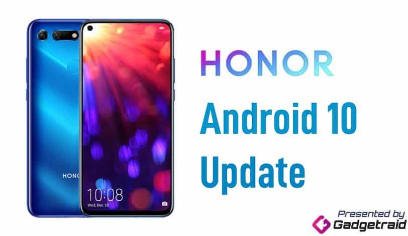 Cập nhật danh dự cho Android 10 1
