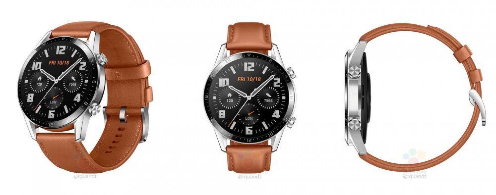 Huawei Watch GT 2, filtrado el próximo reloj inteligente de Huawei