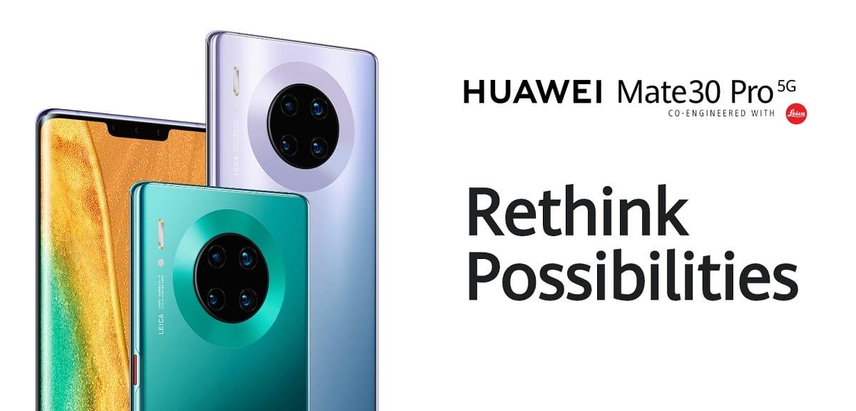 Huawei voi lisätä Google-sovelluksia Mate 30: een, jos lukitus pysähtyy
