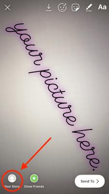 Mövcud birinə necə şəkil və ya video əlavə etmək olar Instagram Tarix 5