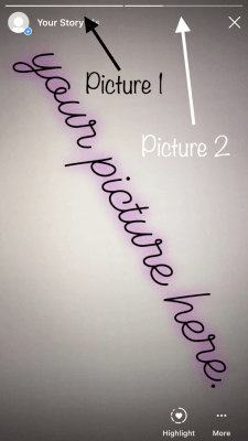 Mövcud birinə necə şəkil və ya video əlavə etmək olar Instagram Tarix 6