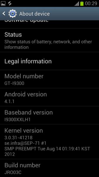 Instal XXDLH4 Android 4.1.1 di Galaxy S3 I9300 Jelly Bean Pra-Resmi Firmware dengan ODIN