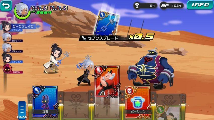Kingdom Hearts Dark Road Detail Pertama Konfirmasikan Ini Adalah RPG Berbasis Kartu