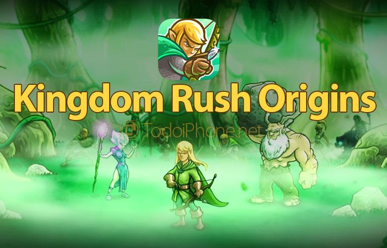 Nguồn gốc Kingdom Rush cho iPhone và iPad có sẵn trong App Store 1