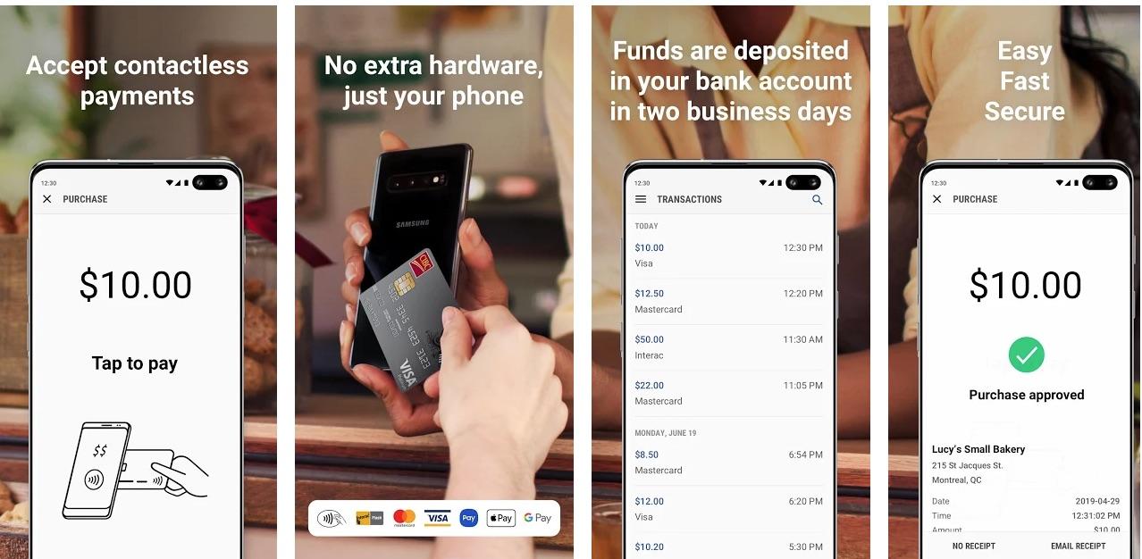 Aplikasi Samsung Pay Touch membuat terminal PoS keluar dari Anda Galaxy telepon
