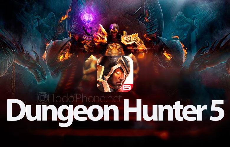 Trận chiến cận chiến đã trở lại trong Dungeon Hunter 5 cho iPhone ... 2