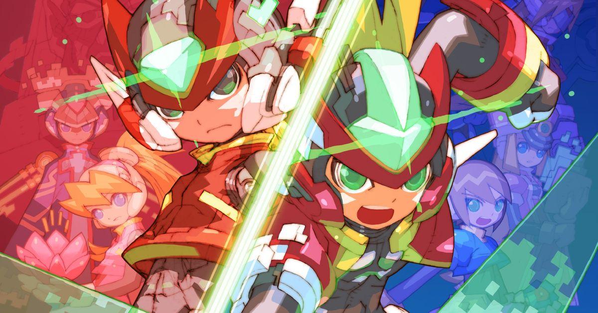 Mega Man Zero / ZX -mallisto tuli konsoliin ja tietokoneeseen vuonna 2020