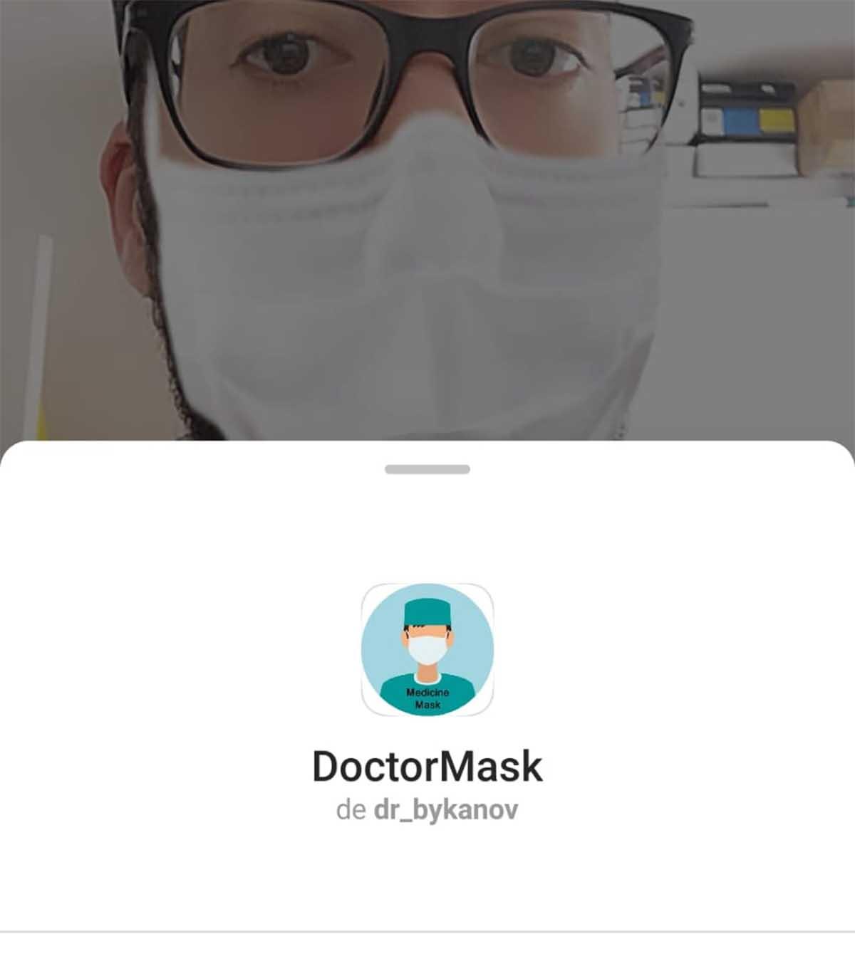 La mascarilla de Instagram Stories que todo el mundo usa con el Coronavirus