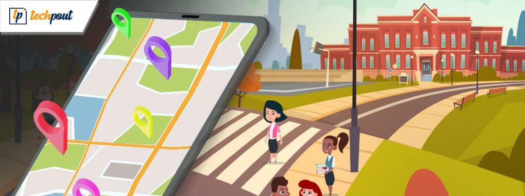 Ny app hjälper barn säkert att gå till och från skolan 1
