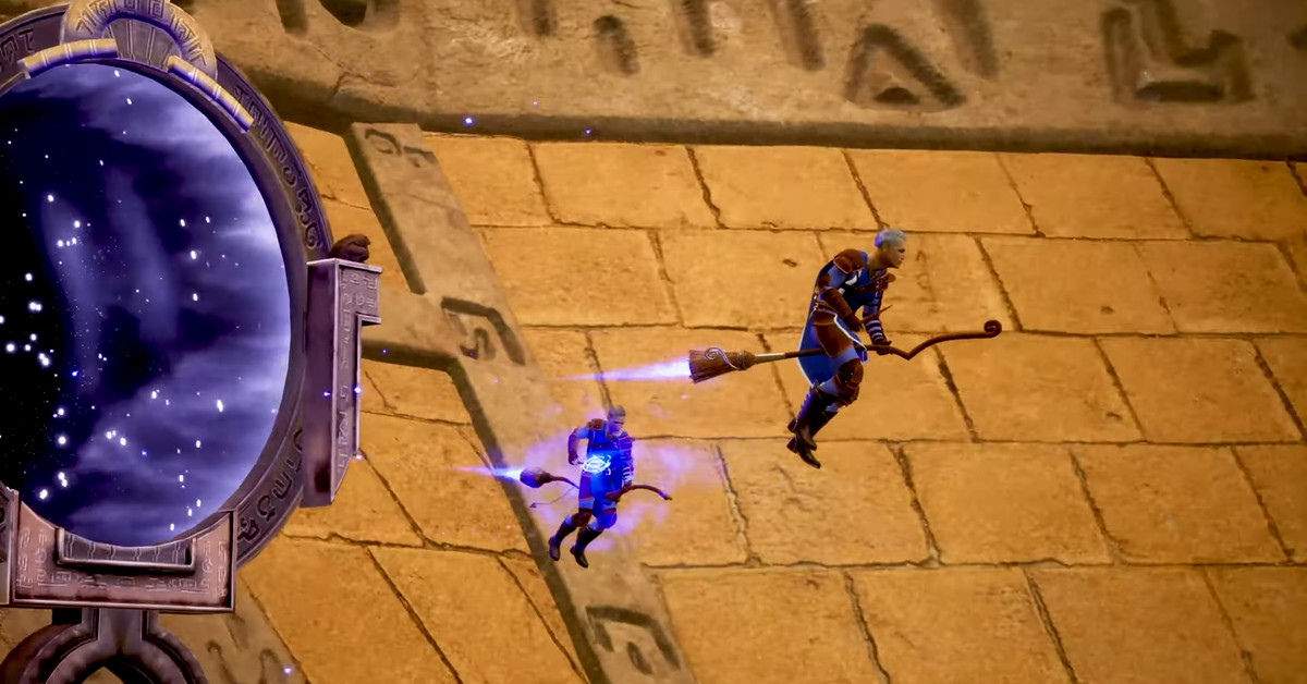 Liga Broomstick seperti Quidditch mendapatkan tanggal rilis Steam Early Access 1