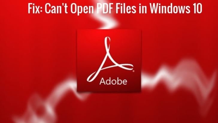 PDF-tiedostoja ei avata Windows 10 [TESTED SOLUTIONS] 1