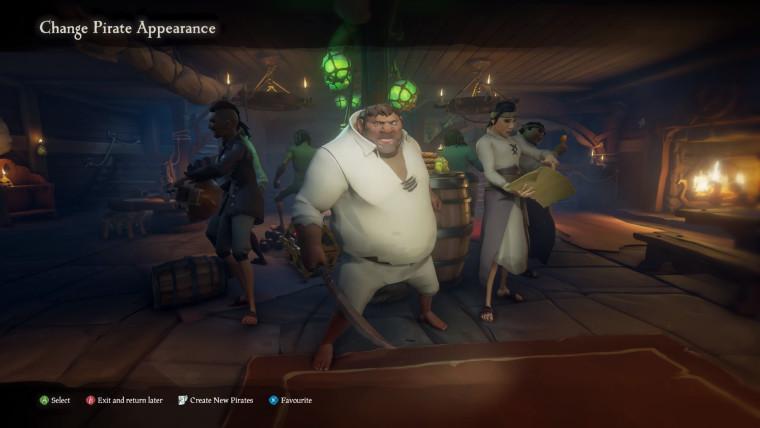 Pemain Sea of Thieves akan segera dapat mengubah penampilan bajak laut mereka