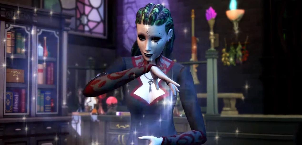 The Sims 4 menyambut dunia sihir dengan ekspansi baru