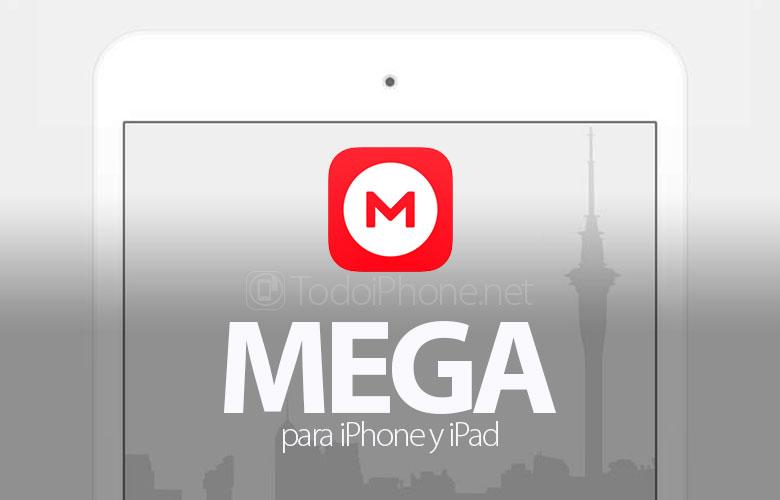 MEGA memiliki desain yang kompatibel dengan iPad baru 1