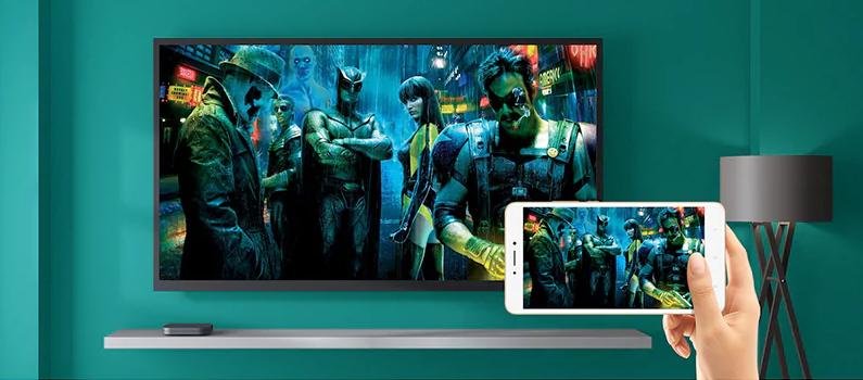 MIUI akan mengintegrasikan cara-cara baru untuk membagikan konten smartphone kita pada monitor eksternal atau TV (Koneksi & Berbagi)