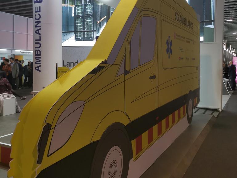 MWC 2019: 5G Barcelona-ambulanssi