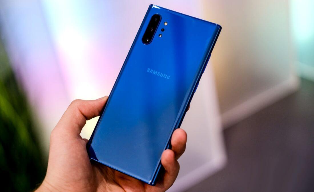 Samsungin huolto Galaxy Huomautus 10 + 5G on luokiteltu 3 10: stä