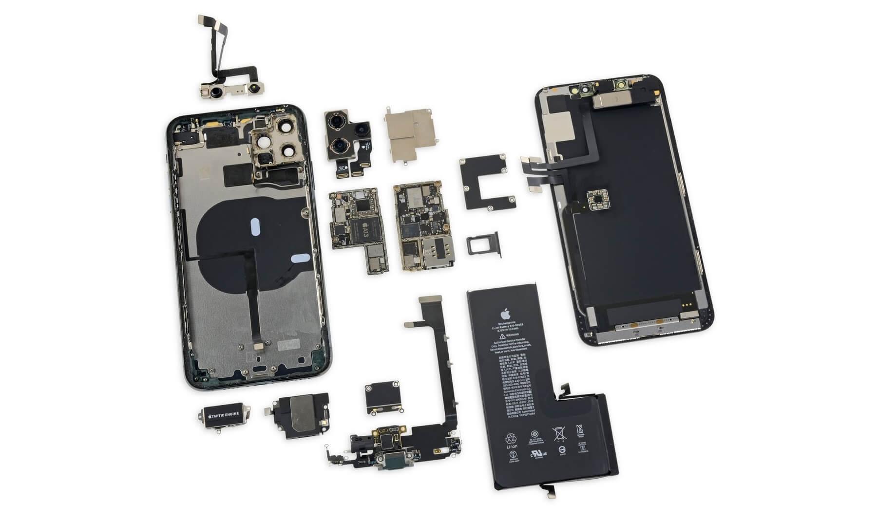 IPhone 11 Pro Max -huollon luottoluokituksena on 6 pistettä