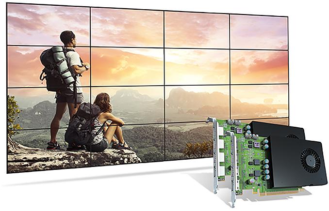 Matrox Meluncurkan Kartu Grafis D-Series dengan GPU NVIDIA Quadro