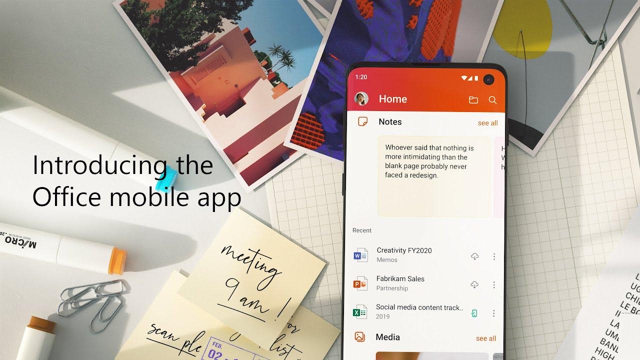 Microsoft meluncurkan aplikasi Office iPhone baru yang menggabungkan Word, Excel, dan PowerPoint 1