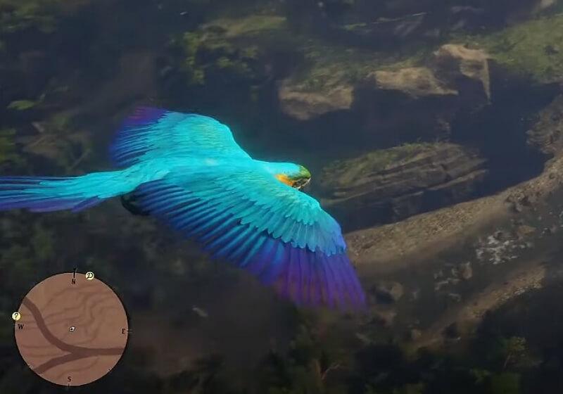 Mod mengubah Red Dead Redemption 2 menjadi simulator burung yang damai