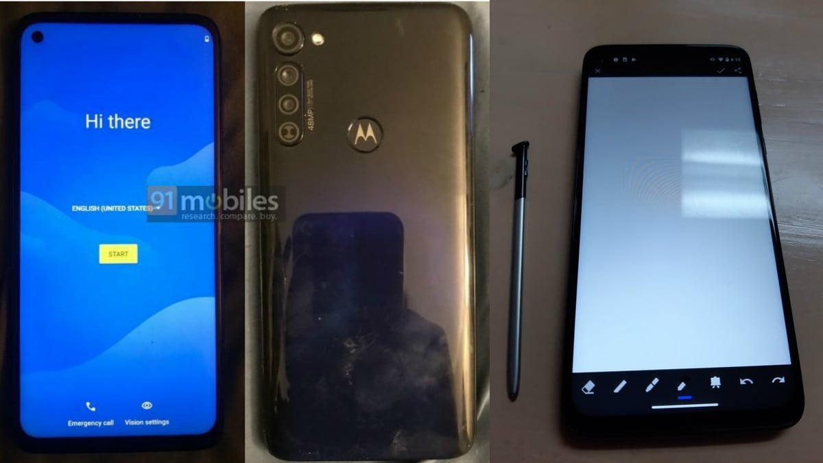 Moto G Stylus Spotted on Geekbench, Live Photos and Specifications Leak