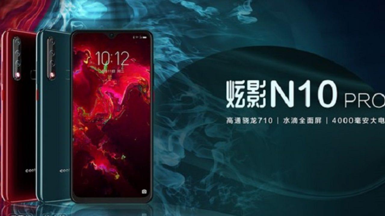 N10 Pro: lọc các đặc điểm của mẫu Coolpad 2