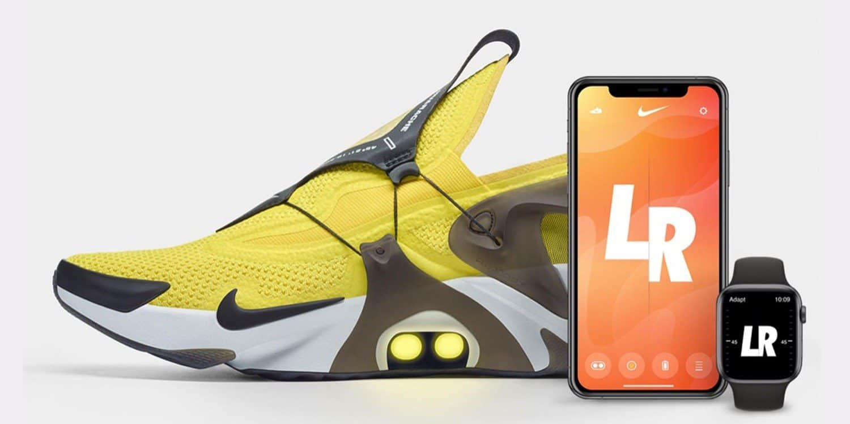 Nike FitAdapt Hantaman Dapat Dikontrol dengan Apple Watch dan Siri