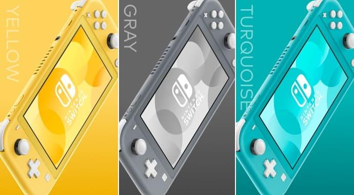 Nintendo Switch Data penjualan Lite di Inggris dirilis, menjual 13.500 unit minggu pertama