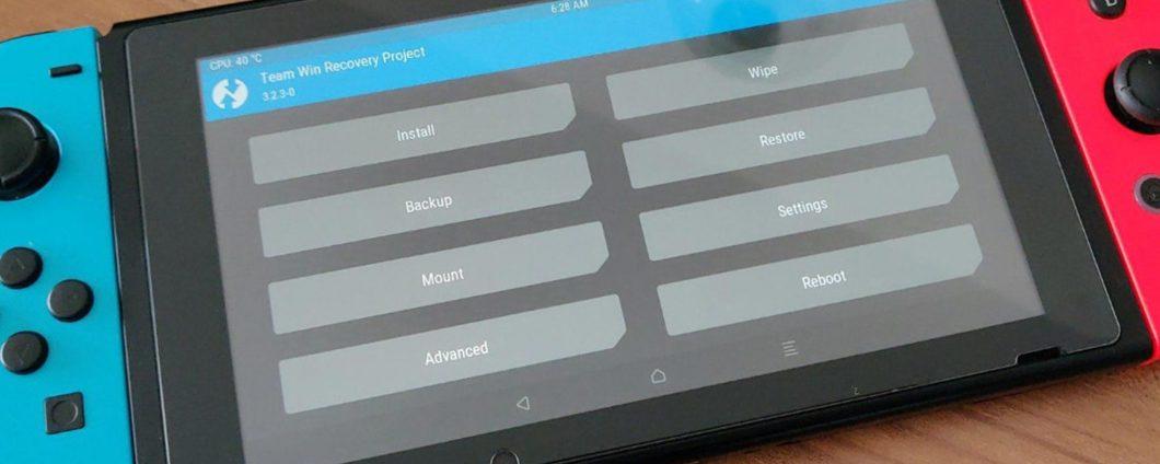 Nintendo Switch dengan Android di papan: sekarang Anda bisa