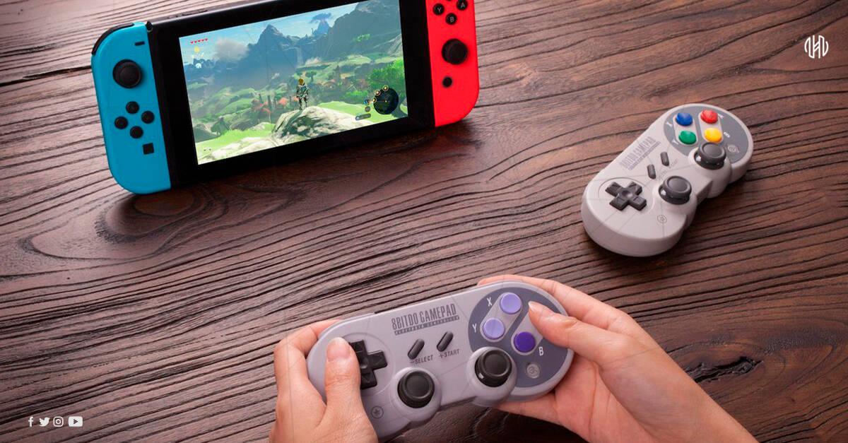 Nintendo vapauttaa SNES-ohjaimen Switch