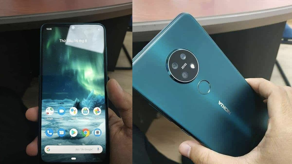 Nokia 7.2 Live Photos, Colour Variants Leaked Ahead of Expected IFA 2019 Launch