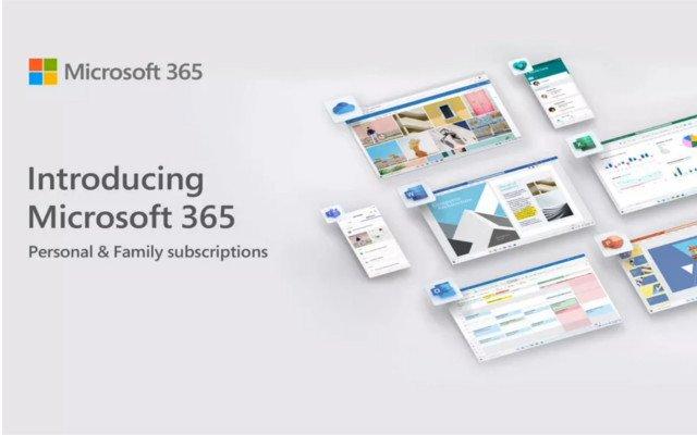 Nuevo Microsoft 365 Personal y Family lanza editor inteligente