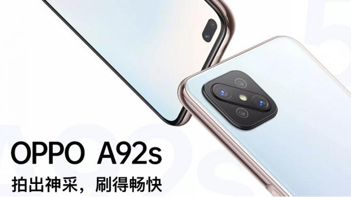 OPPO A92s: presenterade den nya och kraftfulla mellanklass-smarttelefonen 1