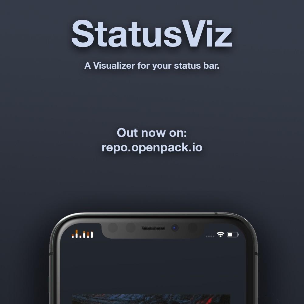 Dapatkan visualisator audio yang unik di Status Bar Anda dengan StatusViz 1
