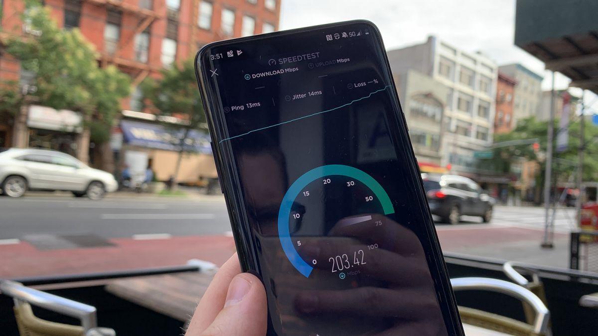 OnePlus 7 Pro 5G luonteeltaan: kokeile NYC 5G Sprint -verkkoa