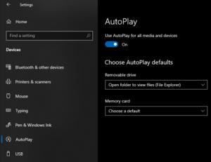 Så här stänger du av AutoPlay för USB-enheter 2