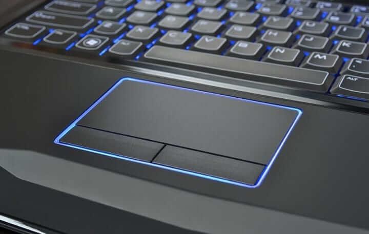 foto av bärbar dator pekskärm