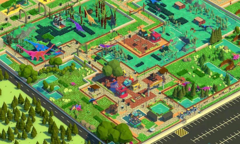 Parkasaurus on tycoon-peli täydellisen dinosaurus-eläintarhan rakentamisesta …