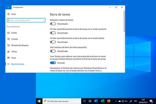 Anpassa aktivitetsfältet Windows 10 med Aktivitetsfältet 1