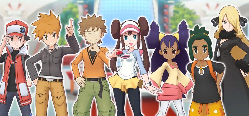 Pokemon Masters: Komposisi Tim Terbaik / Pengaturan Tim untuk Gamer Bermain Gratis