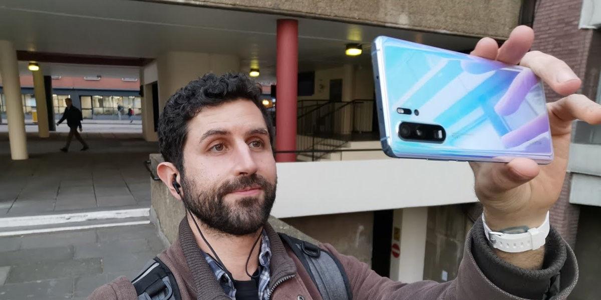 Selfie dengan Huawei P30