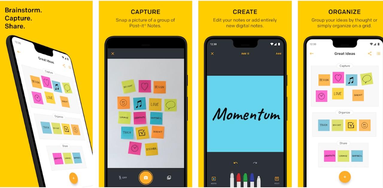 Post-it (akhirnya) merilis aplikasi Android setelah 5 tahun
