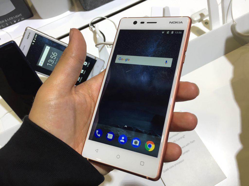 Ấn tượng đầu tiên của Nokia 3 và nokia 5 # MWC17 3