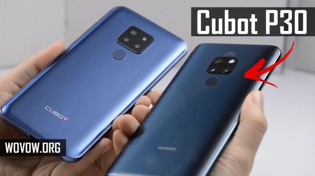 Ulasan pertama CUBOT P30: smartphone tiga kamera yang sesuai anggaran! 1