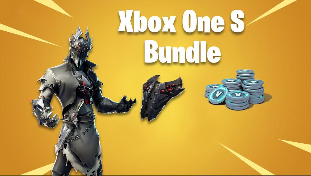 Katso ensin paketti Fortnite Xbox One S Rogue Spider Knight vuotanut