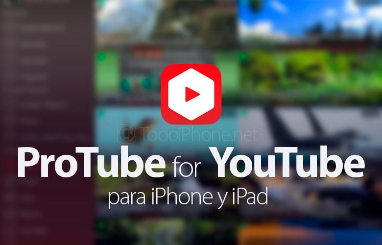 ProTube for YouTube, iPhonen asetukset ovat käytettävissä sovelluksessa …