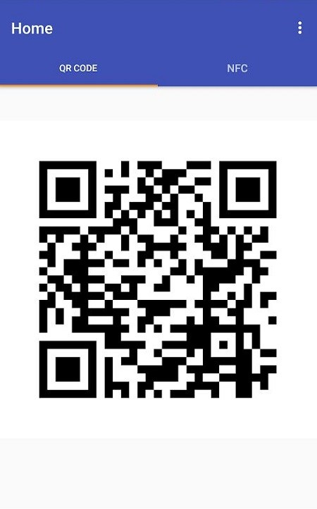 QR для NFC