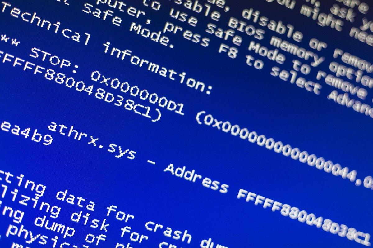 ako opraviť chybu PHASE1 INITIALIZATION FAILED na Windows 10
