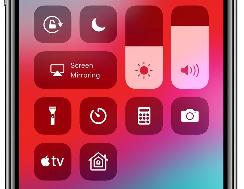 ReachCC13 membuka Pusat Kontrol dengan gerakan Reachability asli iOS 1